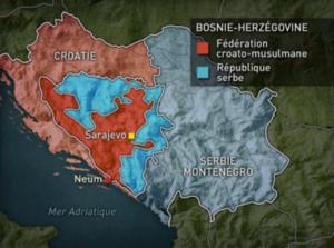 Arte Mit offenen Karten - Lage am Balkan