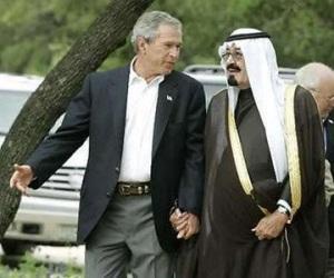 bush saudi king 3