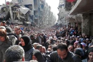 entvölkerung syriens
