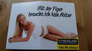 werbung-fitnessland